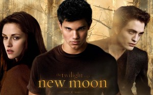 Bella Edward and Jacob from New Moon